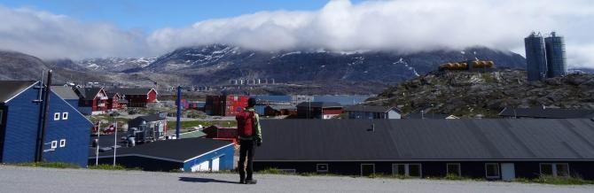 1. dag på byvandring i Nuuk